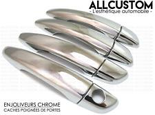 Copri maniglia per porta in acciaio INOX cromato 207//208//308//407 4 porte