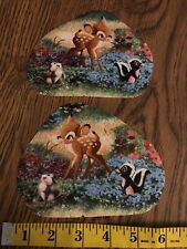 Disney BAMBI Fabric Iron On Appliques - GORGEOUS COLORS! SUPER CUTE!!