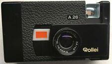 ROLLEI Set: Kamera A 26 mit Sonnar 3,5/40 + Blitzgerät C26 + Ladegerät