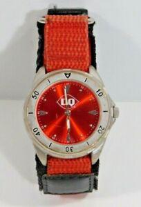 Vintage Sweda DAIRY QUEEN Sports Watch Wristwatch Rare
