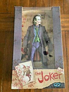 "NECA DC Reel Toys ""THE JOKER"" Heath Ledger - The Dark Knight 18"" Action Figure"