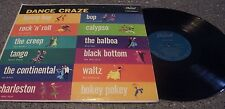"Capitol Turquoise Label ""Dance Craze"" VARIOUS ARTISTS LP CALYPSO, BOP, TANGO"