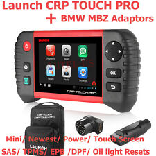 LAUNCH CRP TOUCH PRO Diagnostic Scan Tool SAS TPMS DPF EPB BMW Mercedes Adaptor