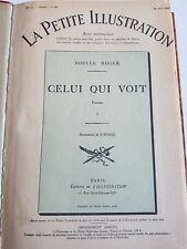 1926 Ensemble de ROMANS  LA PETITE ILLUSTRATION tirés du journal l'ILLUSTRATION