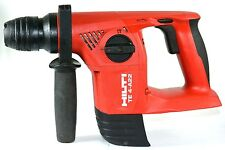 HILTI ROTARY HAMMER TE 4-A22 22V (SKIN ONLY) MAX CONCRETE16MM STELL10MM 1090RPM
