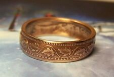 Canadian Large Penny Coin Ring