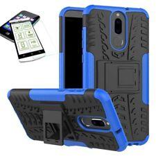 Hybrid Case Tasche Outdoor 2teilig Blau für Huawei Mate 10 Lite Hülle + Glas Neu
