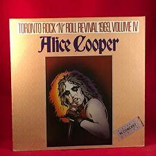 ALICE COOPER Toronto Rock 'N' Roll Revival 1969 UK vinyl LP EXCELLENT CONDIT