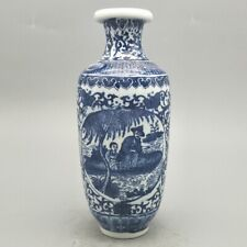 Chinese old  porcelain Blue and white Figure painting vases