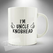 I'm Uncle Knobhead Mug Cup Coffee Tea Hot Chocolate Funny Office Novelty Gift