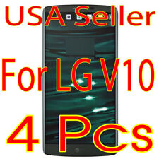 4x New Lg V10 Hd Clear Screen Protector Guard Film Shield (Usa)