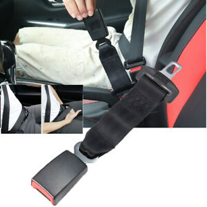 Auto Car Accessories Seat Seatbelt Safety Belt Extender Extension Buckle black
