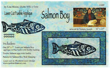 Salmon Boy Laser Cut Quilt Kit DIY Quilting Appliqué Only