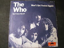 """THE WHO - won´t get fooled again SINGLE 7"""""""