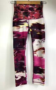 "Lululemon Wunder Under Pant III Crop Legging Pigment Wind Berry Sz 2  Inseam 22"""