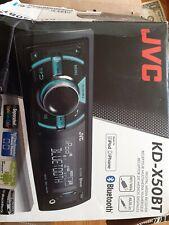 JVC KD-X50BT CAR RADIO STEREO USB / AUX PLAYER