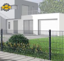Doppelstabmattenzaun 50m x 0,83m anthrazit Zaun Gartenzaun Metallzaun Gitterzaun