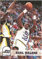 Karl Malone Hoops 1993/94 NBA Basketball Card #218