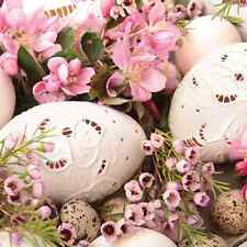 20 paper EASTER Napkins PINK EASTER Flowers Eggs Spring Decoupage 33x33cm