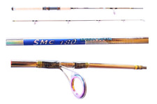 Canna SMC 2.10Mt 30/60Gr Spinning in Carbonio Pesca Spigola Mare Black Bass TP