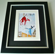 Sir Quentin Blake SIGNED 10X8 FRAMED Photo Autograph Display Roald Dahl Art COA