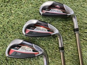 King Cobra S9 7 - 9 Iron Set Graphite Design YS 55g Senior Flex Graphite Mens RH