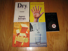 AUGUSTEN BURROUGHS LOT OF 5 RUNNING W POSSIBLE SIDE EFFECTS BETTER NOT CRY MAGIC