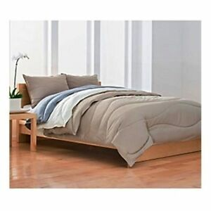 Calvin Klein Comforter down-alternative Pure Cotton Random Wave Sateen F/Queen