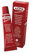 10 x AJONA STOMATICUM ORIGINAL MEDICAL GERMAN TOOTHPASTE - WORLDWIDE SHIPPING