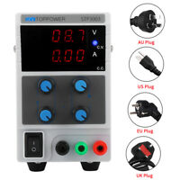 SKYTOPPOWER Variable Regulated DC Power Supply 0-30V/60V 0-3/5/10A Adjustable TP