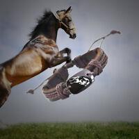 Jumping Horse Love Vegan Leather Adjustable Bracelet Free Shipping USA Seller