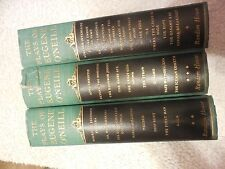 The Plays of Eugene O'Neill - New York: Random House, 1955 - In Three Volumes