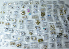 120 Pairs of Brand New Jordache Earrings Closeout Wholesale 120 Piece Lot