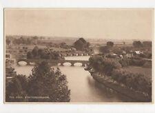 The River Stratford On Avon Vintage Postcard  162a