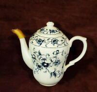 Vintage Nikko Ironstone Teapot Ming Tree Blue Double Phoenix