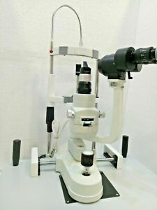 New Optometry Slit Lamp 2 Step  Zeiss Type with Accessories  Free Expedited Ship