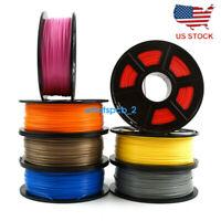 3D Printer Filament 1.75mm PLA 1kg 2.2lb Multiple Colors MakerBot RepRap New
