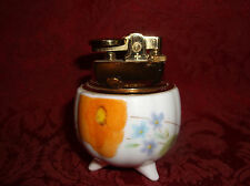 VINTAGE PORCELAIN WINDMILL LIGHTER WITH 3 LEGS