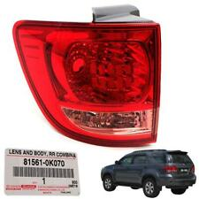 Fit 2005-2008 Toyota Fortuner Suv Genuine Part Corner Left Rear Tail Light Lamp