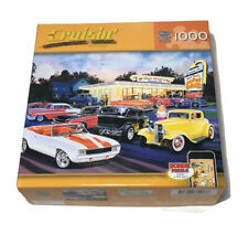Master Pieces Jigsaw Puzzle Cruisin' By Bruce Kaiser 1000 Pieces New Sealed