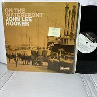 John Lee Hooker On The Waterfront- Wand WDS 689 VG+ Blues Record LP