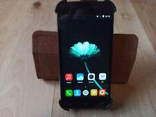 CUBOT X12, 8GB, Schwarz (Ohne Simlock) Android 5.1 Smartphone inkl. Ledercase
