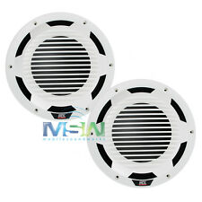 "(2) MTX WET124-W 12"" SINGLE 4-OHM MARINE BOAT AUDIO SUBWOOFERS SUBS WHITE *PAIR*"