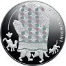 Lettland euro Silbermünze 2017 Märchen III, Latvia Silver Fairy Tale, Mitten