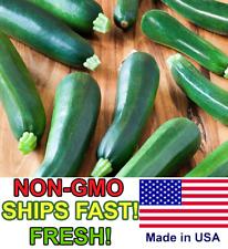 25+ Black Beauty Zucchini Squash Seeds | NON-GMO | Fresh Vegetable Garden Seeds