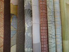 10 Piece Bundle Vintage Japanese Cotton Yukata Fabric Scrap Remnants
