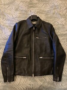 "Allsaints ""Clay"" Leather Jacket"