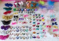 Littlest Pet Shop LPS RANDOM Lot of 8 Custom Clothes Cellphone Handmade