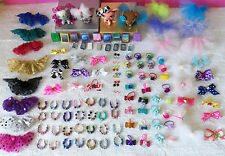 Littlest Pet Shop LPS RANDOM Lot of 8 Custom Clothes Cellphone Handmade  iPad