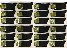 10 PAIRS MEN'S BLACK SOCKS COTTON RICH  FORMAL SOCKS EVERYDAY  size UK  6-11 YRP